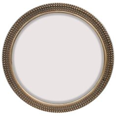 """INFORMATION:  Features:  Frame Material: Polyurethane Brand: Majestic Mirror Wall Mounted Beveled Mirror Antique Gold with Black Rub Finish Simple Round Style Traditional Appearance Manufacturer provides 1 year warranty Ships free! Weight and Dimensions:  Overall Dimensions: 36"""" H x 36"""" W Overall Weight: 22 lbs."""