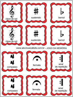 Learn to Play Piano Through Software Music Lessons For Kids, Piano Lessons, Guitar Lessons, Music Theory Piano, Piano Music, Music Music, Music Symbols, Music Worksheets, Reading Music
