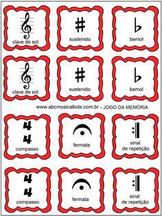 ATIVIDADES DE EDUCAÇÃO INFANTIL  E MUSICALIZAÇÃO INFANTIL: Jogo da memória