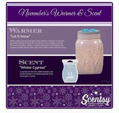 """""""LET IT SNOW"""" ~ Sure to be a SELL OUT!!! ORDER ONLINE ~ SHIPS DIRECT https:/spollreisz.scentsy.ush"""