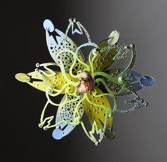 linda threadgill: rosette series | Daily Art Muse