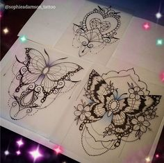 Tattoos And Body Art tattoo designers uk Lotusblume Tattoo, Lace Tattoo, Piercing Tattoo, Leg Tattoos, Flower Tattoos, Body Art Tattoos, Cool Tattoos, Side Thigh Tattoos, Piercings