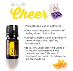 NEW doTERRA product! Cheer