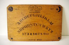 Antique Ouija Board WM FULD from Baltimore, Maryland circa 1902-1910
