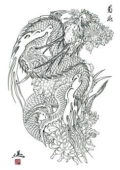 Crows and Herons: Our book of Horiyoshi III's dragon paintings, Ryushin, now 40% off for a limited time!