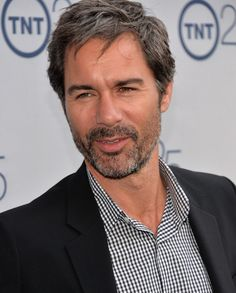 Eric McCormack Actor Eric McCormack arrives to TNT's 25th Anniversary Party at The Beverly Hilton Hotel on July 24, 2013 in Beverly Hills, California. (He looks even better a little unshaven with unstyled hair than he did on Will and Grace.)