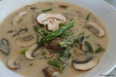 Best Crockpot Recipes (May 2015): Crock Pot Asparagus Mushroom Soup recipe by The Skinny Pot