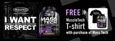 Free tshirt with MassTech Purchase