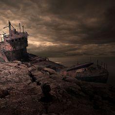 Land Of Ships And Wrecks | Bored Panda