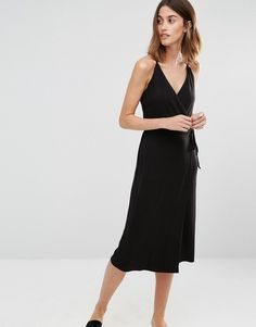 Image 1 ofWarehouse Strappy Cami Dress