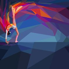 Olympic 2012 Fractured Illustrations - Charis Tsevis