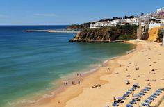 Praia dos Pescadores en Albufeira, Algarve (Portugal)