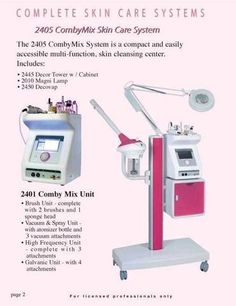 2405 CombyMix Skin Care System