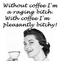 Without or With Coffee...Which shall it be? LOL