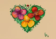 Mini Paintings, Original Paintings, Original Art, Abstract Flowers, Abstract Art, Painting Flowers, Abstract Expressionism, Watercolor Paper, Artwork Online