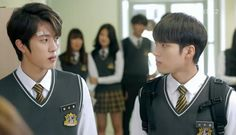 [CAPS] 141017 High School Love On Ep.12  - #인피니트 Woohyun & Sungyeol #2