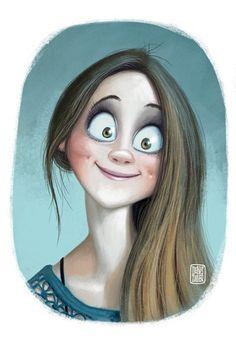 Denis Zilber Art Blog: That look:)