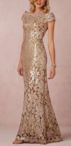 Mother of the bride dress with flower design