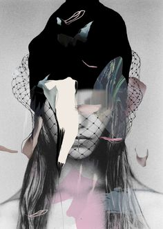 Louise Mertens Mixed Media Collages – Trendland Online Magazine Curating the Web since 2006 Fashion Collage, Fashion Art, Trendy Fashion, Fashion Design, Photomontage, Fashion Graphic, Mixed Media Collage, Grafik Design, Collages