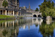 City of Bath, England .... really enjoy this city.
