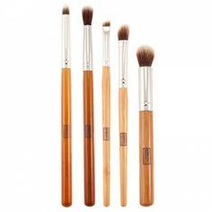 Everyday Minerals Large Eye Brush Set #everydayminerals #makeupbrush #mua #makeupbrushkit #beautychamber