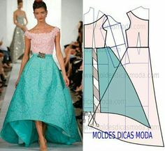 Sewing Dress, Dress Sewing Patterns, Diy Dress, Sewing Clothes, Clothing Patterns, Pattern Dress, Party Dress, Diy Kleidung, Diy Fashion