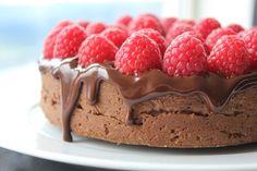 Sjokoladekake med Ritz og Cashew - Sjokoladefloyel6
