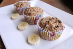 Low-Fat Banana Bran Muffins