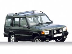My First Land Rover and 3rd car! (: black Discovery 1997!