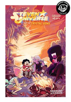 Steven Universe & Crystal Gems #1 Alison Strejlau Exclusive Variant Comic