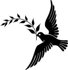 Dove, Peace, Flying, Silhouette Make A Donation, Free Pictures, Art Images, Vector Free, Digital Art, Clip Art, Peace, Silhouette, Free Image