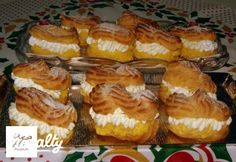 Pasta Choux, Sweet Cookies, Eclairs, Sweet And Salty, French Toast, Muffin, Food And Drink, Pie, Homemade