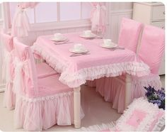 garden fabric cover/Dust covers for back of chairs upholstery Kit-A * Details can be found at Dining Chair Slipcovers, Chair Upholstery, Dining Table Chairs, Rose Shabby Chic, Shabby Chic Homes, Shabby Chic Kitchen Accessories, Princess Chair, Indian Bedroom Decor, Home Swing