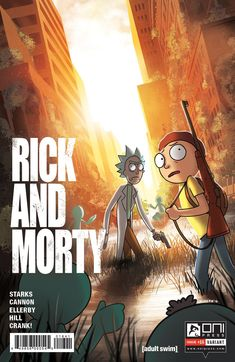 Check out Rick and Morty's pitch-perfect comic book take on The Last of Us