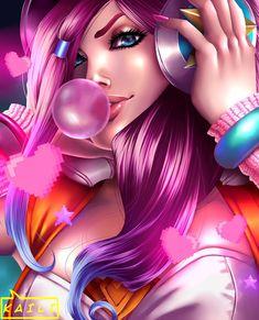 Arcade Miss Fortune by KailiStark on DeviantArt