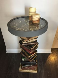 home accessories store Repurposed books and . - home accessories store Repurposed books and a non functional cl -