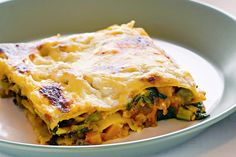Besides being healthy and budget-friendly, lentils make a great low-fat alternative to traditional lasagne fillings.