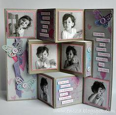 Nataśkowy składak. Nadal tnę Lavender emotions - piękne są :)      Dziękuję za odwiedziny i za komentarze dziękuję :)