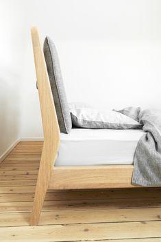 project of a bedroom with an office furniture design loft szczecin stauraum schlafzimmer