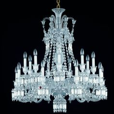 Baccarat - Zenith Chandelier 2606563 - luxury crystal lighting on select-interiormarket.com
