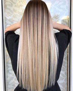 43 Balayage High Lights to Copy Today Our top picks for balayage high lights to copy. Perfect styles for blonde highlights, dark brown or brunette hair styles, and natural curls and waves. Balayage Straight Hair, Lace Hair, Ombre Hair Color, Hair Colour, Hair Looks, Dyed Hair, Hair Inspiration, Hair Inspo, Hair Cuts