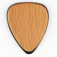 Tri Tones Beechwood Single Plectrum.