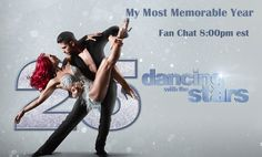 "Dancing With The Stars ""Most Memorable Year"" Fan Chat, 8 pm est 