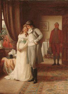 """♥ """"The Suitor"""" → Herbert P. Dollman - 1856/1892."""