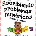 Students create and write their own word problems using pictures and graphic organizer.  ...