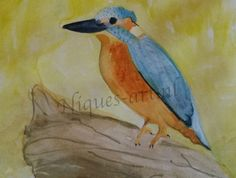 Kingfisher Kingfisher, Painting, Art, Art Background, Common Kingfisher, Painting Art, Paintings, Kunst, Drawings