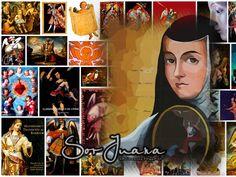 Galería personal: Sor Juana, collage ~ Sor Juana, la décima musa