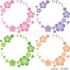フレーム 花 桜
