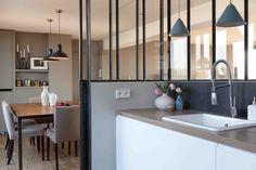 Cuisine - Salle à manger - Appartement Paris 16ème, 90m2