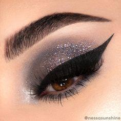 Smoky Eyeshadow, Grey Eyeshadow, Eyeshadow Looks, Eyeshadow Palette, Bright Eyeshadow, Eyeshadow Ideas, Makeup Eye Looks, Beauty Makeup, Hair Makeup